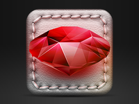iOS game icon WIP