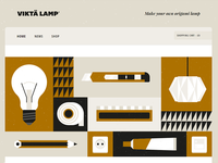 Viktä Lamp Website