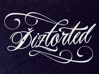 Diztorted logo