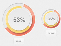 Percentage Loader - FREE PSD