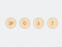 Free PSD Social Media Icons by