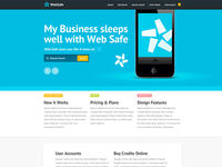 Corporate PSD Theme