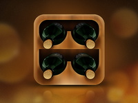 Wine Cellar Management App Icon