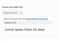 Google Webfonts Preview