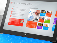 World Academy Online for Windows 8