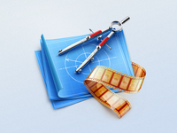 Compasses MacOS icon
