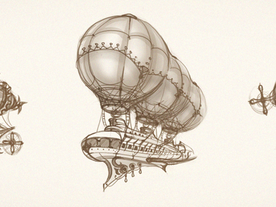 Airship_scketches
