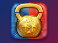 FCB Fitness iOS icon
