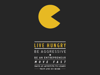 Live Hungry (less mnml)