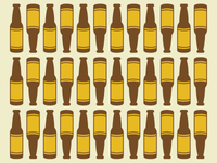 Beer Bottle Pattern