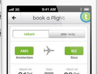 Transavia // Book a flight