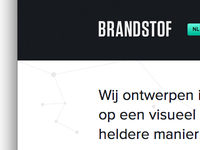 New website, Studio Brandstof
