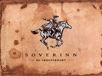 Soverinn logo design