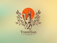 Travel Sun logo design