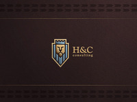 H and C logo design