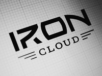 IronCloud logo design