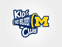University of Michigan - Go Blue! Kids Club Logo