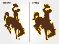 Wyoming Logo Proposal - Before & After