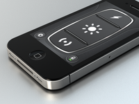 iPhone 4 render