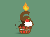 6years anniversary icon