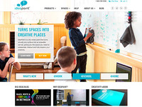 Ideapaint Homepage Redesign