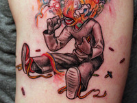 Crayon Eater Tattoo