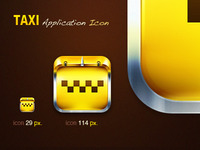 Taxi Application Icon