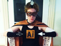 Adobe Illustrator Costume