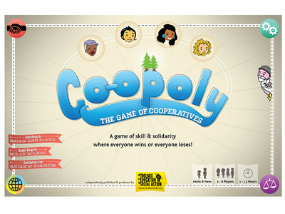 Co-opoly: Box cover 2nd Printing