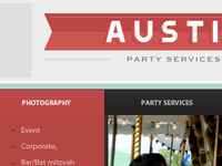 Party planning website