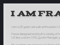 My Personal website