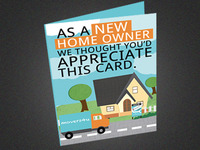 Real Estate Greeting Card