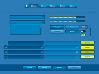 Blue Ui Design