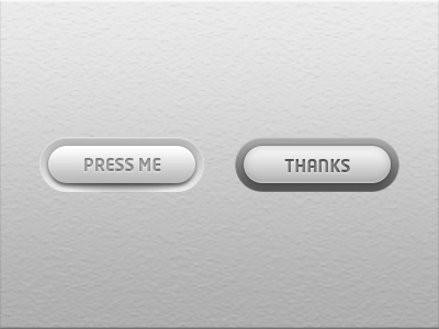 Ui_simplistic_white_button