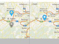 Mapmarker animated with CSS