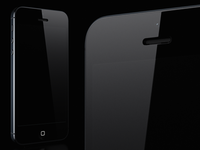 iPhone 5 Black WIP II