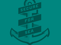 Secure for sea