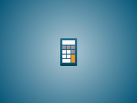 Calculator Logo Icon