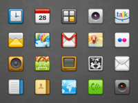 Yippee! icons for Android