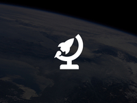 Rocket Planet Logo / Symbol Design