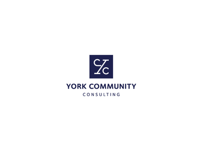 York Community Consulting Logo Design