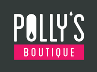 Pollys Boutique Logo Spacing