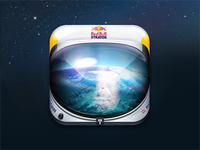 Red Bull Stratos iOS Icon