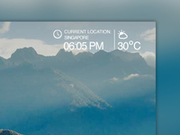 Time & Weather Function for a website
