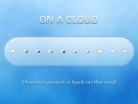 Hexicons: Cloud
