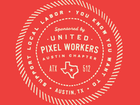 United Pixel Workers - Sleeve Detail