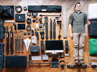 A Man & His Tools