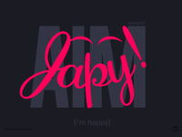 Espanglish - i'm happy