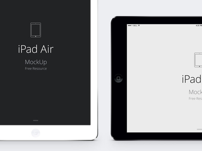 Download iPad Air PSD Vector Mockup