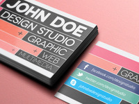 Creative Business Card Template (Freebie)